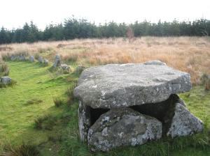 Cist Stone Row 6